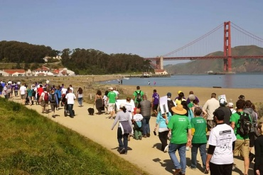 This walkathon, organized by Great Strides, aims to raise money for research on Cystic Fibrosis.