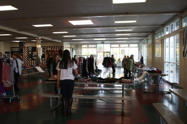 The Trade4Hope clothing swap took place on Dec. 1 in the CEA.