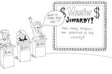 ONLINE marin jeopardy illustration