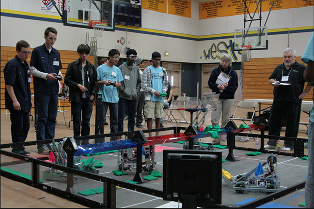 Robotics Team Goes To Vex Competition The Redwood Bark