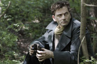 Col. Mercier (Tennant) spies on German troops in BBC America's new mini-series.