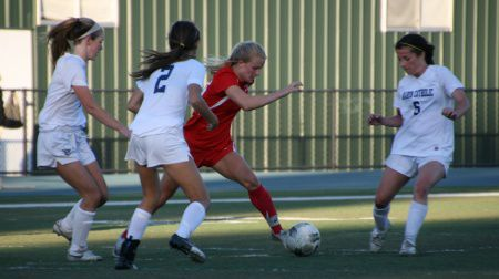 Forward Olivia Konttinen played a key role in last Friday's MCAL Championship victory over Marin Catholic.