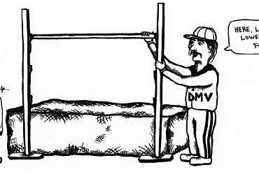 DMV cartoon