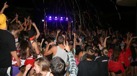 Students get down at the Back to School Dance, one of the biggest events of the year, on Friday, Aug. 24. The date of next year's dance is being debated right now.