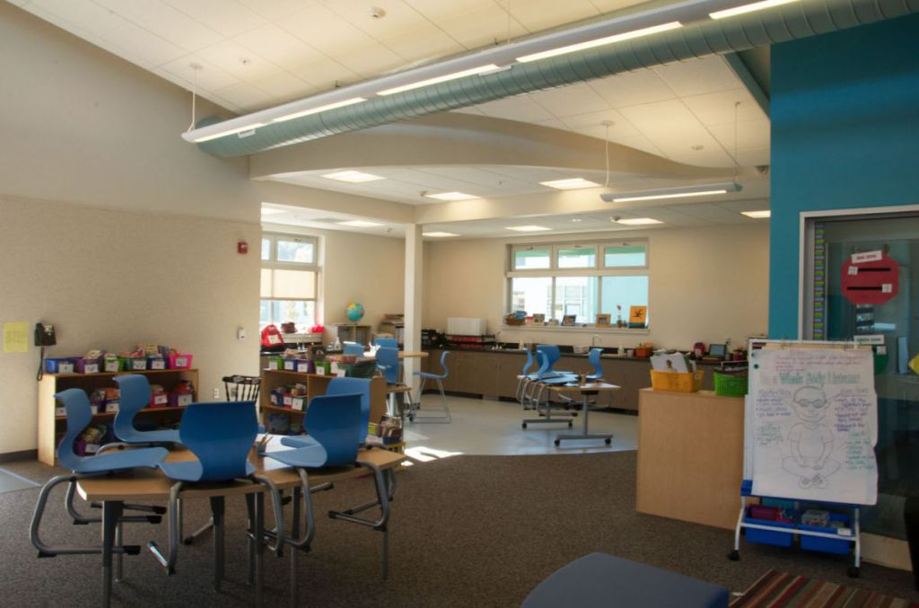 Inside Collaborative Classroom ~ Overflow of students causes opening new elementary