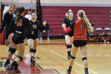 Redwood triumphs after a point.