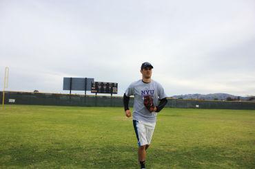 Senior Zach Cohen will play baseball next year for New York University.