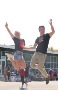 Jumping in front of the CEA, new Redwood TV hosts Sophie Landeck and Ned Peterson are excited for the new season.