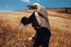 Travis Scott's album, Rodeo, is available now.