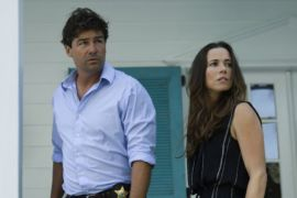 "Netflix's hit series ""Bloodline"" features dark vibes to perfectly complement a rainy day mood."
