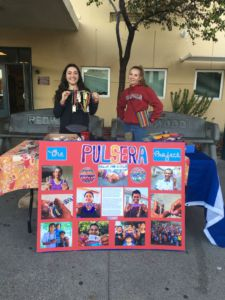 Selling colorful handmade bracelets, the Color the World club raised over $3000.