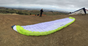 Ryan has met many new people through paragliding including some of Bill's old friends from when Bill had hang glided.