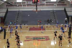 The girls' volleyball team has had great success in recent years making the MCAL finals three of the past four years.
