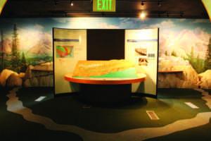 The SF Bay Model at the San Francisco Bay Model Exhibit in Sausalito, CA