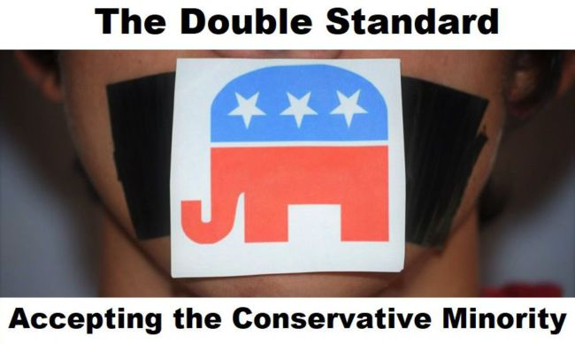 The Double Standard: Accepting the Conservative Minority