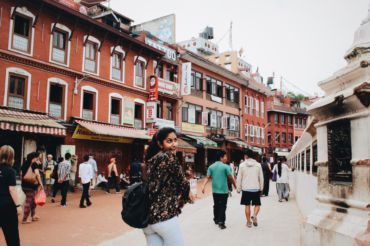 Visiting Kathmandu, Nepal Senior Aarti Dixit fell in love with traveling, part of the reason why she decided to spend her freshman year abroad in London before she transfers to USC sophomore year.