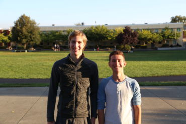 Charlie Werner (left) and Harrison Segal (right)