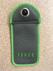 Utilized in the classroom, Yondr pouches lock phones during class time.