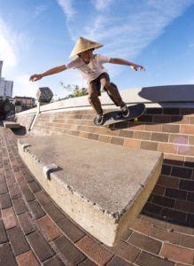 Sophomore Elliot Gorham banks off the wall