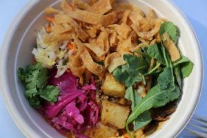 No Worry Curry quinoa bowl