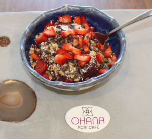 Serving fresh and nutritious açai, Ohana Bowls opened in the Market Place shopping center in Corte Madera on Sept. 27