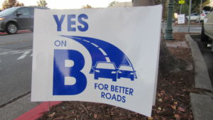 On Monday, November 9th, Larkspur passed Measure B in order to raise funding for road repair.