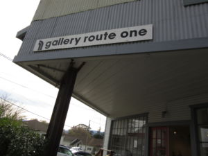 Front view of the Gallery Route One in Point Reyes