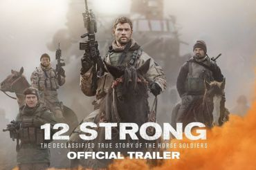 "Cover of movie ""12 Strong."""