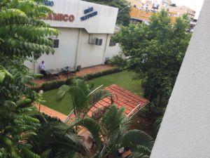 School courtyard in Goiânia, Brazil.