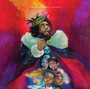 """""""K.O.D"""" album cover."""