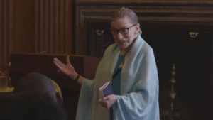 Crafting together personal interviews, old photographs, and footage of speeches, 'RBG' tells the story of the woman who introduced sex discrimination to the Supreme Court.
