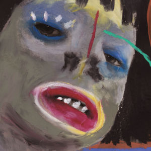 Portrait of Santigold by artist February James