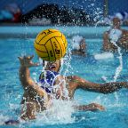 Boys' varsity water polo narrowly defeats Terra Linda