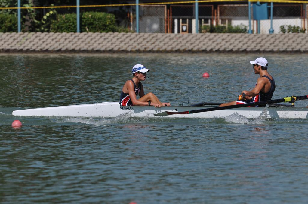 Redwood rowers represent United States in Junior World Championships