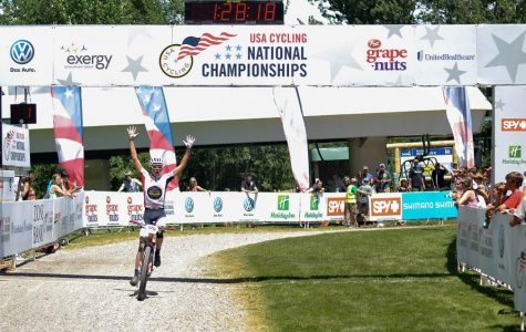 Riders reach podium at cycling national championship