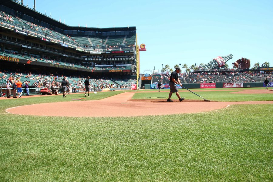 The Giants will open up the World Series against Detroit with two games at AT&T Park in San Francisco.