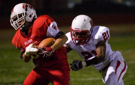 Varsity football tastes victory under San Rafael lights