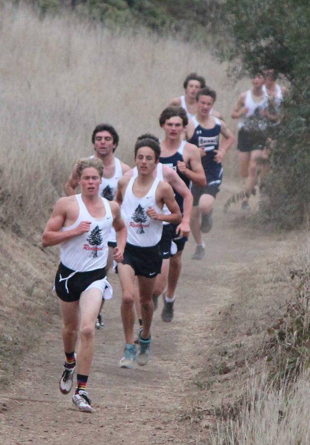Gallery: Varsity boys and girls cross country sweep Branson, Justin Siena