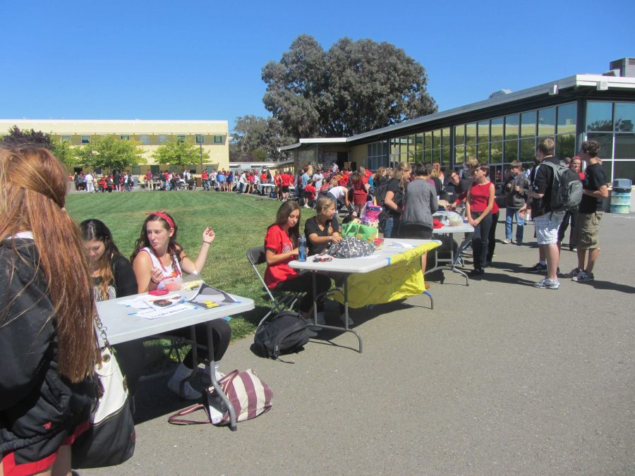 Club day offered a chance for new and returning students to learn about the various club offerings at Redwood.