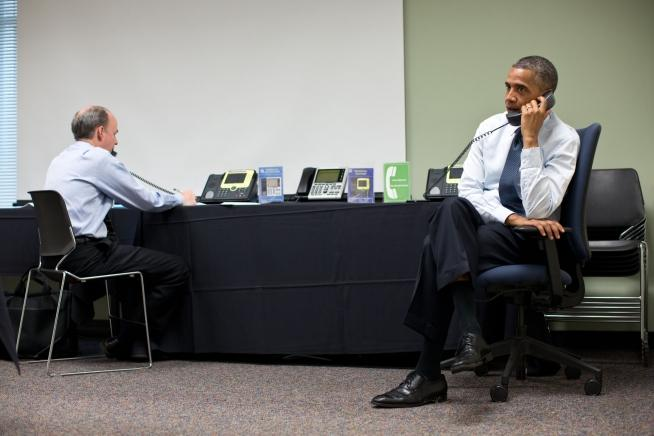 President Obama road a wave of positive feelings to his historic 2008 election victory, but faces tough opposition from Republican challenger Mitt Romney.