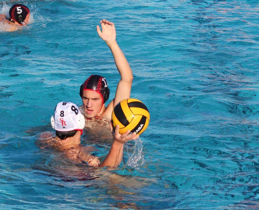 Varsity water polo swims to big win over San Rafael