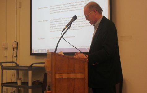 Board debates changes to sex education program