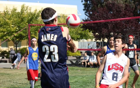 Gallery: Bomb Squad beats Pinnerz in intramural volleyball semifinals