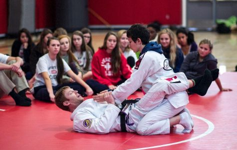 Gallery: PE students schooled in mixed martial arts