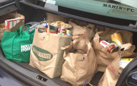Club donates canned food to local nonprofit