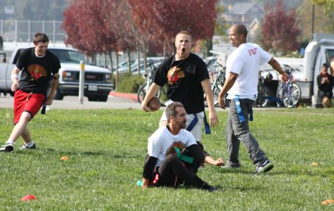 Gallery: Seniors defeat teachers in Turkey Bowl