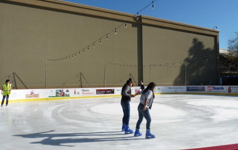 Ice skating rink opens at Northgate Mall