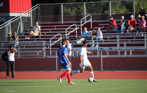 Boussina's prolific goal scoring leads varsity soccer team to wins
