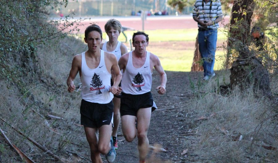 Huxham, Ehrenberg excel in State Championship Cross Country Meet