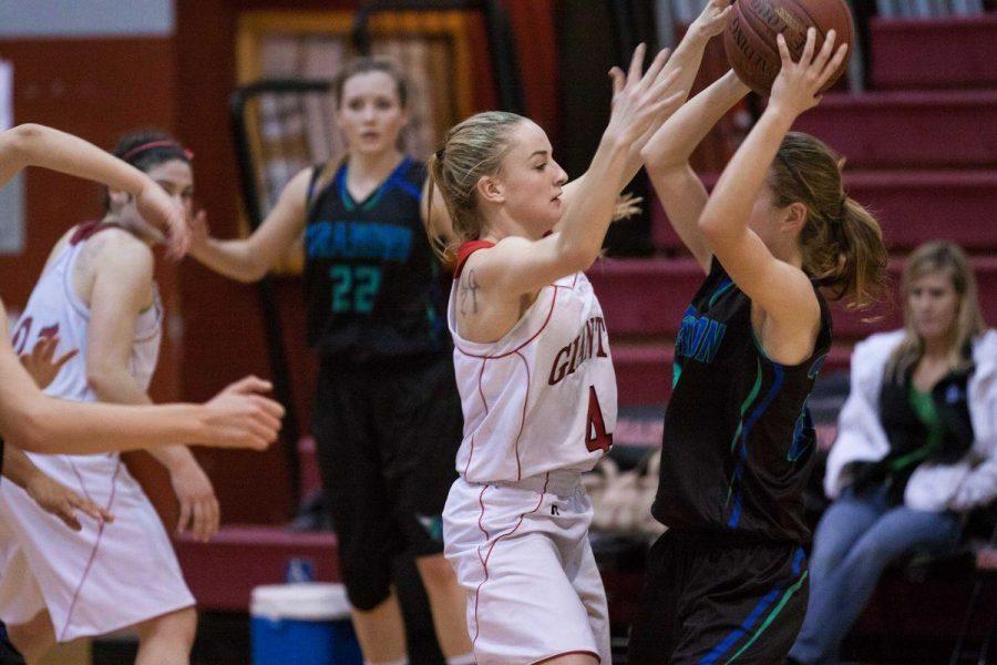 Girls varsity basketball shuts down Branson with strong defense